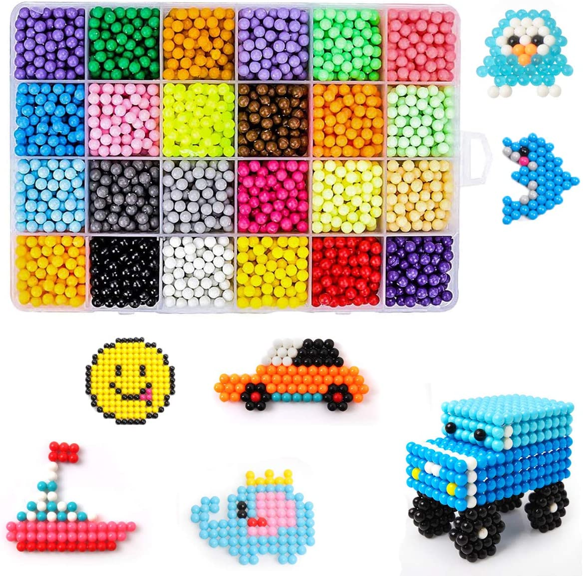 Fuse Beads mart 30 Colors Water Magic Set Sticky Detroit Mall Spray