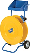 Vestil STRAP-PS-HD Steel Strapping Cart with Powder Coat Finish, 24-7/8
