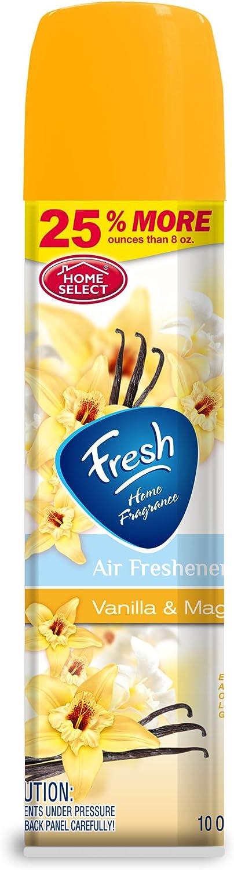 Home Select Aerosol Air Fresheners
