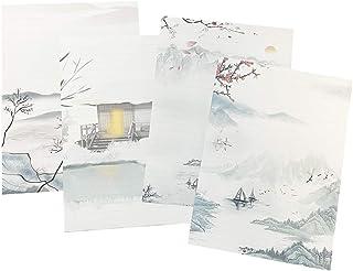 مجموعة أوراق أوراق أوراق أوراق مكتبية مكونة من 60 قطعة من آيماجيكو، 4 أنماط مختلفة