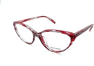 Rx Eyeglasses Frames A03081 001 55-16-140 Top Black Dot/Red Italy