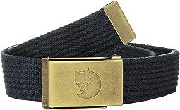 Canvas Brass Belt