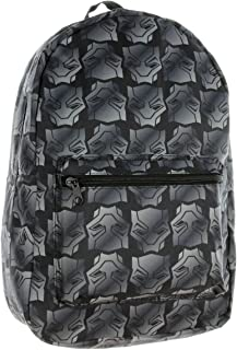 Black Panther Backpack Marvel Mask All Over Print