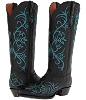 Tony Lama Signature Series Embroidered Floral Boot