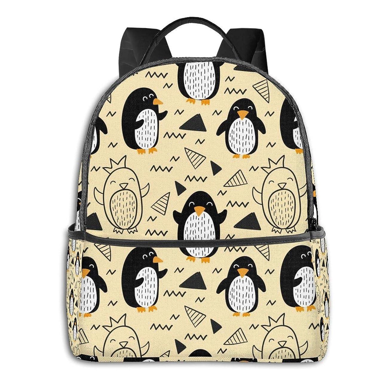 リーズ談話あえてバックパック リュック ペンギン 漫画 ビジネスリュック 大容量 軽量 多機能バッグ 通勤 通学 旅行 出張 アウトドア メンズ レディース おしゃれ 手提げ 耐衝撃 人気 男女兼用