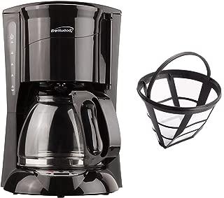 Brentwood TS-218B Digital Coffee Maker, 12-Cup, Black