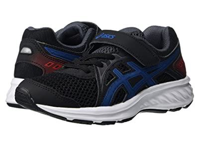 ASICS Kids Jolt 2 (Toddler/Little Kid) (Black/Directoire Blue) Boys Shoes