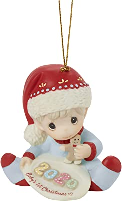 Precious Moments 2020 Christmas Ornaments Babys First Amazon.com: Precious Moments 201006 Baby's 1st Christmas 2020