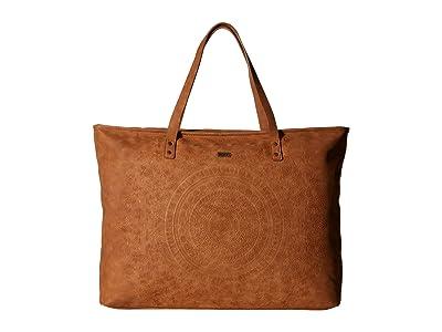Roxy Set it On Fire Tote (Camel) Tote Handbags