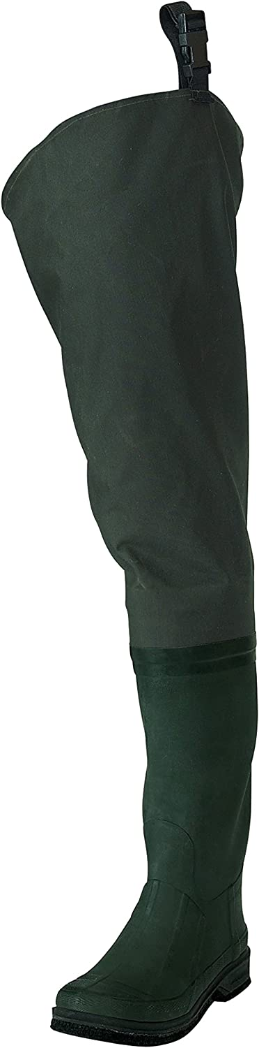 Frogg Toggs Cascades 2-Ply Rubber Bootfoot Felt Sole Hip Wader
