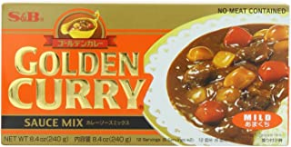 S&B Golden Curry Sauce Mix, Mild, 7.8-Ounce (Pack of 5)