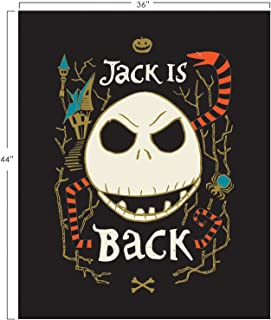 Disney Nightmare Before Christmas NBC Jack is Back Cotton Fabric Sold by The Panel
