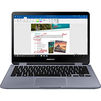 "Samsung - Notebook 7 Spin 2-in-1 13.3"" Touch-Screen Laptop - Intel Core i5 - 8GB Memory - 512GB Solid State Drive - Stealth Silver"