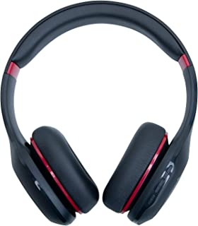 Mi Super Bass Wireless Headphones with Super Powerful Bass, Up to 20 Hours Battery Life, Bluetooth 5.0 (Black and Red)