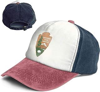 73a18031 Fashion Vintage Hat National Park Service Logo Adjustable Dad Hat Baseball  Cowboy Cap