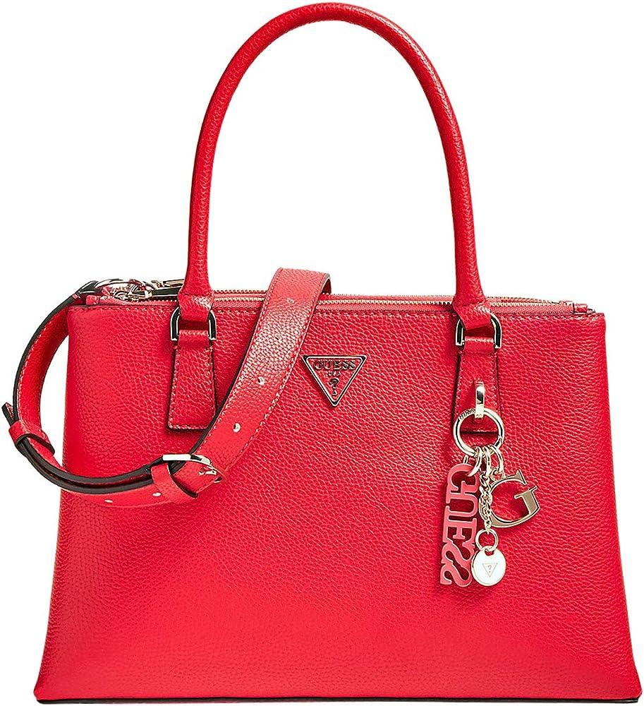Guess, borsa per donna a mano/tracolla,in pelle sintetica BECCA