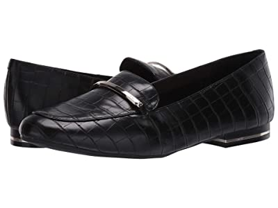 Kenneth Cole New York Balance Loafer Bar (Black Embossed) Women