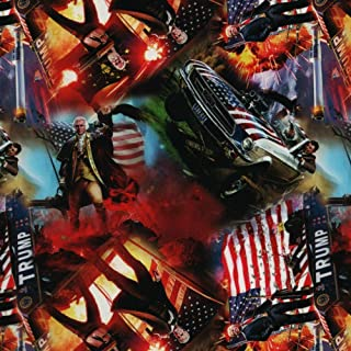 Trump Print - with 6oz. Activator Hydro Film Dip Kit Hydrographics Film - Hydro Dip Film - Hydrographic Film - Water Transfer Printing - Hydro Dipping
