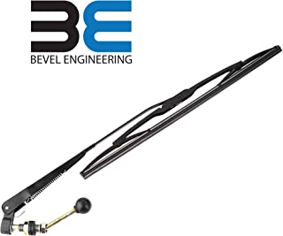 Bevel Engineering Upgraded UTV Hand Operated Windshield Wiper With 16
