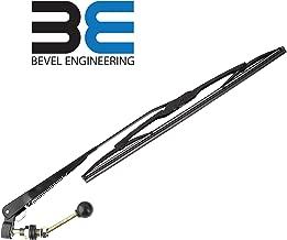Bevel Engineering Upgraded UTV Hand Operated Windshield Wiper With 16