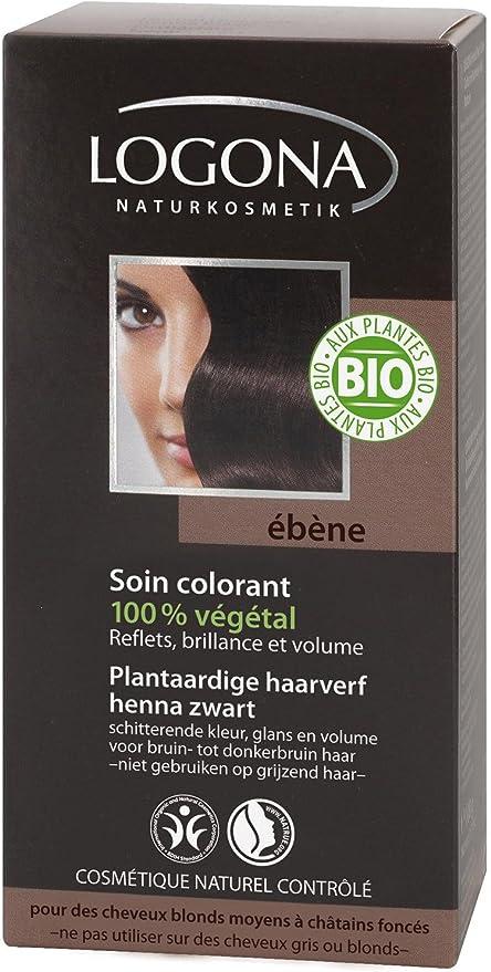 Logona Colorante Veg. 090 Castaño Oscuro 100G Logona 100 g