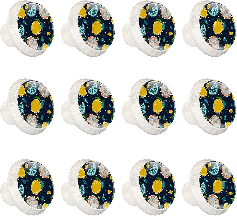 Zuyoon Dresser Knobs and pulls Lemon Max 61% OFF Ha Cabinet Cartoon Max 75% OFF Cupboard