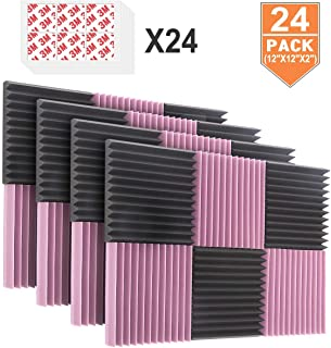 DEKIRU 24 Pack Acoustic Foam Panels, 2