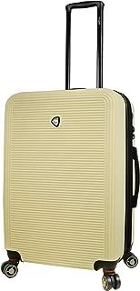 Mia Toro Italy Lumina Hardside 24'' Spinner Luggage, Cream