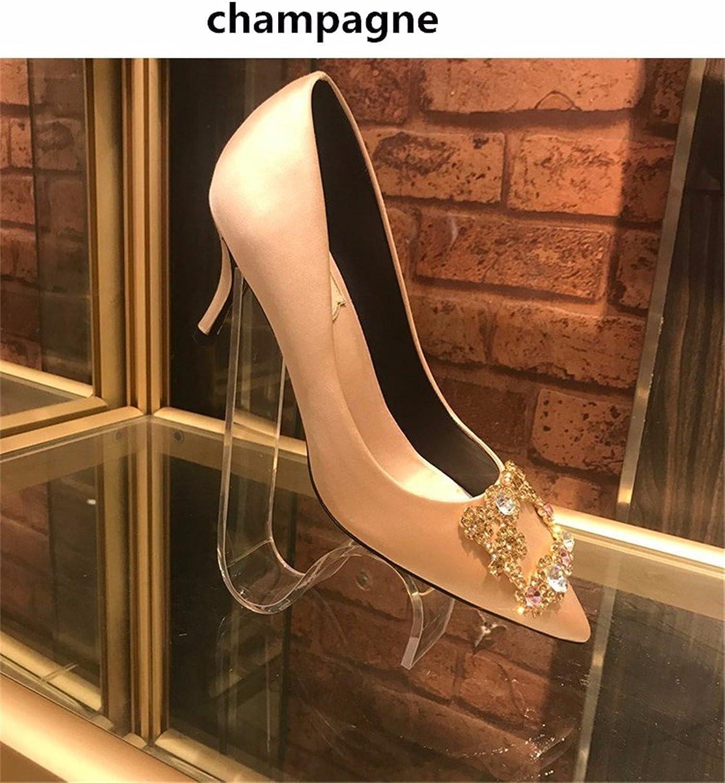 HXVU56546 Herbst Neue Frauen Schuhe Wilde Wasser Bohren Partei Für Die High-Heel Schuhe Tipp Fein Mit Hochzeit Schuhe Einzelne Schuhe  | Online Store  | Wir haben von unseren Kunden Lob erhalten.  | Online-Shop