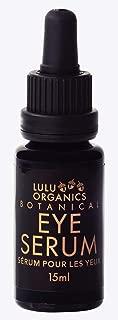 Lulu Organics Botanical Eye Serum For Dark Circles Fine Lines 15ml