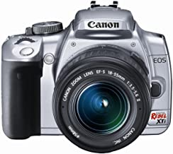 Canon Rebel XTi DSLR Camera with EF-S 18-55mm f/3.5-5.6 Lens (Silver) (OLD MODEL)
