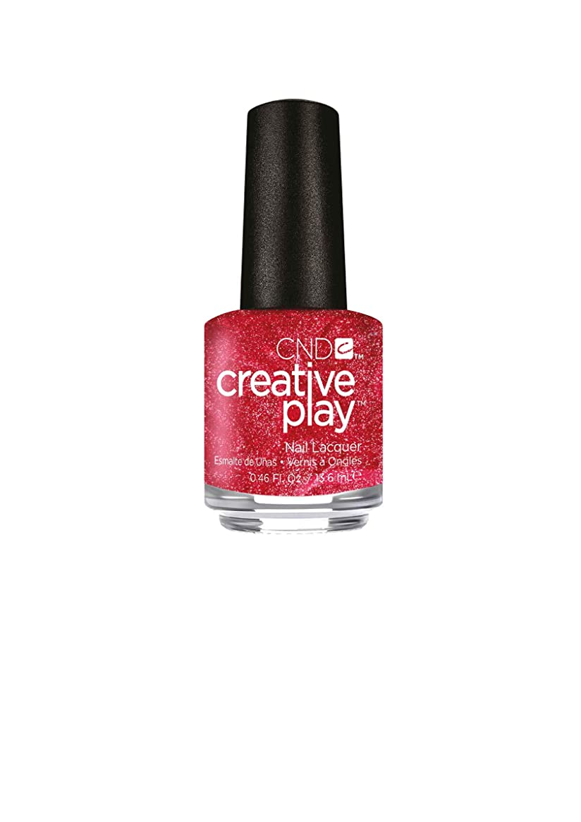真鍮瞳咽頭CND Creative Play Lacquer - Flirting with Fire - 0.46oz / 13.6ml