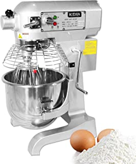 Best KITMA 20 Quart Heavy Duty Floor Mixer - 3 Speeds Commercial Food Mixer with Stainless Steel Bowl, Dough Hooks, Whisk, Beater Review