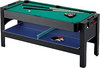 Fat Cat Original 3-in-1, 6-Foot Flip Game Table (Air Hockey, Billiards and Table Tennis)