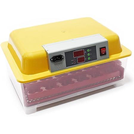 pour 49 /œufs ou 196 petits /œufs avec humidificateur automatique Sirio Incubateur automatique professionnel brevet/é mat/ériau thermo-isolant avec antibact/érien Borotto REAL 49 Plus Expert