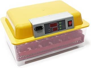 WilTec Incubadora automática 24 Huevos Control Temperatura Incubación Criadero Control Temperatura Aves