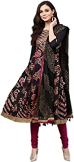 Rain & Rainbow Women's cotton anarkali Salwar Suit Set