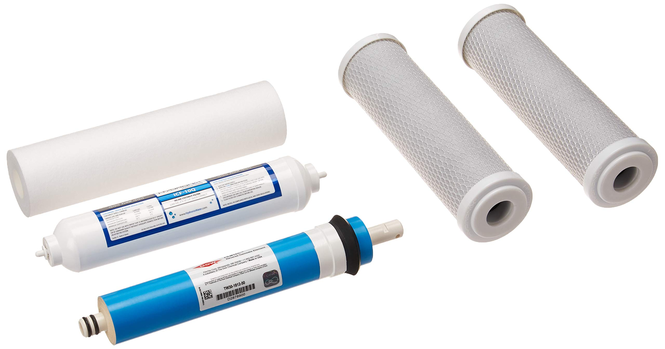 TW30-2514 14 x 2.5 Dow Filmtec 170 GPD TW30-2514 Commercial Reverse Osmosis Membrane for Tap Water Model