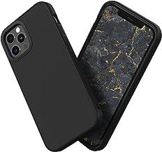 RhinoShield Coque Compatible avec [iPhone 12/12 Pro]   SolidSuit - Housse Fine avec Technologie Absorption des Chocs & Finition Premium - Noir Classic