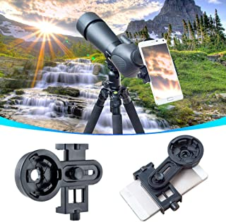 Universal Cell Phone Photography Adapter Mount for Binoculars Monocular Spotting Scope Telescope For iPhone 6Plus Samsung ...
