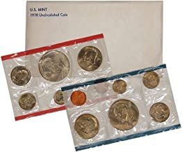 1978 P & D United States US Mint Set