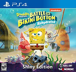 Spongebob Squarepants: Battle for Bikini Bottom - Rehydrated - Shiny Edition (PlayStation 4) - PlayStation 4 Shiny Edition