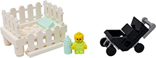 LEGO Baby with Crib, Stroller, and Bottle - Custom Infant...