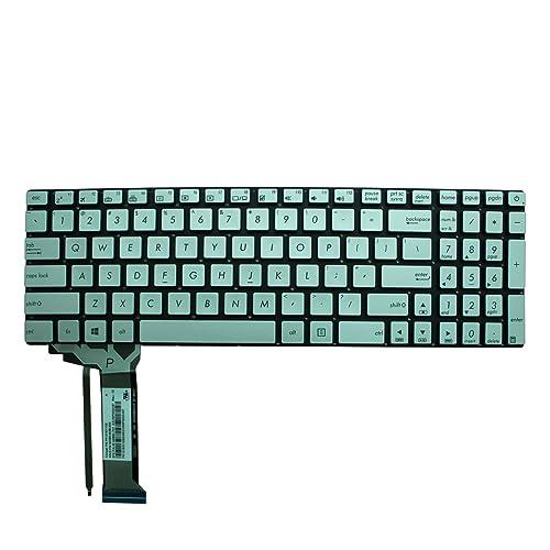 Replacement Keyboard for ASUS N551 N551JB N551JK N551JM N551JQ N551JW N551JX N551VW N551ZU N751 N751JK N751JX