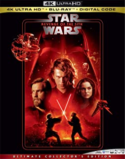 STAR WARS: REVENGE OF THE SITH Blu-ray