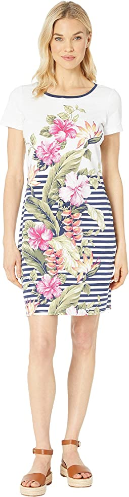 Kahuna Cascade Short Sleeve Dress