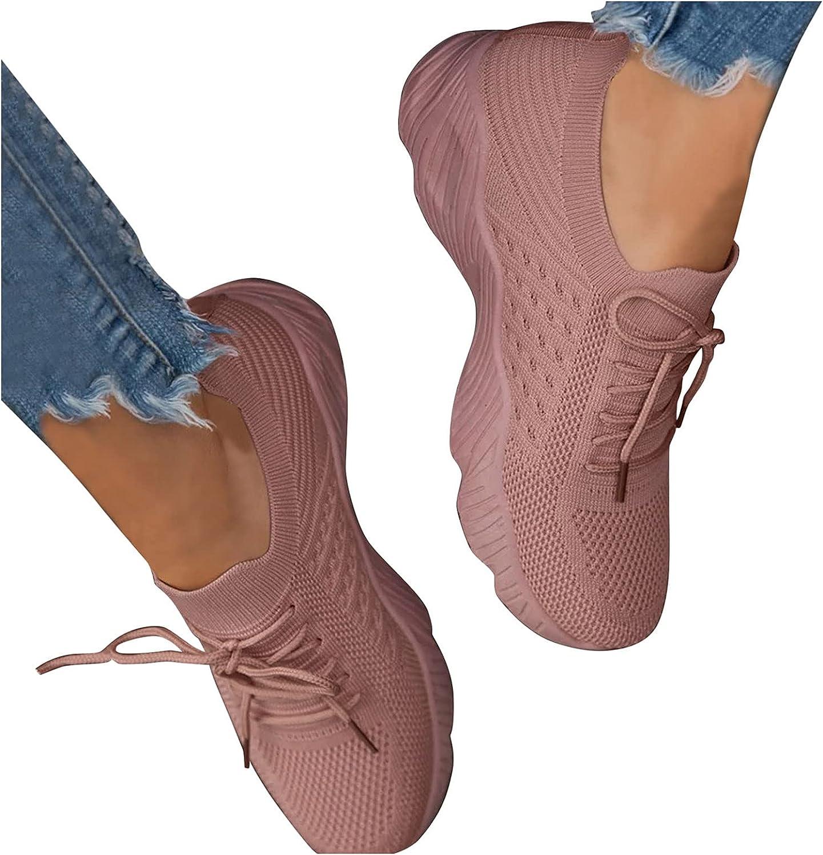 NarZhou Womens Shoes Sneakers for Women Walking Shoes Slip On Pl