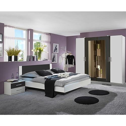 Schlafzimmer Bett Komplett Mit 140x200 180x200 Verfuhrerisch ...