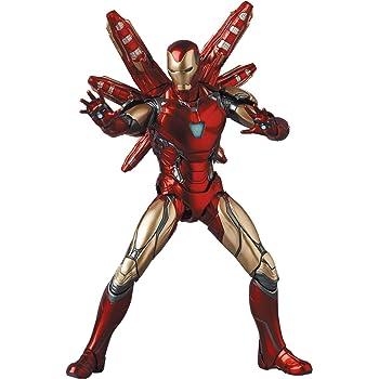 メディコム・トイ MAFEX マフェックス No.136 IRON MAN MARK85 Endgame Ver. アイアンマン マーク85 エンドゲーム バージョン 全高約160mm 塗装済み アクションフィギュア