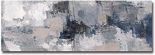 Fajerminart Tableau sur Toile - Grise Tableaux Abstraits Impression sur Toile, Tableau Moderne Tableau Toile, Convient Dec...